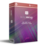 MusicMacho Pro – FE – Multisite Review By IndigoThemes – Impress Your Personal And Business Events Guests By Having A Professional Event Website In Less Than 5 Minutes!