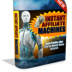 Instant Affiliate Machines Review By James Renouf – Hot New Software Allows You To Create Sites In Any Niche With Built-In Monetization, Built-In SEO And Built-In Traffic!