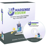 Madsense Reborn Review By Tom Yevsikov – Got $5 To Spend On Traffic? Let's Turn That Into A $6,745.06/Month Pure Profit 30 Minutes/Day Business Using A Simple Adsense + Rapid Traffic Formula That Will Work For You Even If You're A Complete Newbie!
